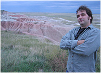 Aaron at the Badlands