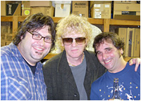Aaron and Jared with Ian Hunter